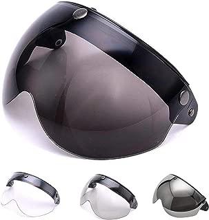 Chrome Silver LS2 Helmets FF325 Strobe Visor Solid Modular Motorcycle Helmet Lens LS2 FF370 FF386 FF394 Replacement Face Shield