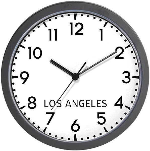 CafePress Los Angeles Newsroom Unique Decorative 10 Wall Clock