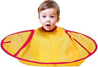 CCbeauty Barber Cape for Toddler Haircut Umbrella Hair Catcher Styling Cutting Pure Cape,Fit 0-5 Years Old