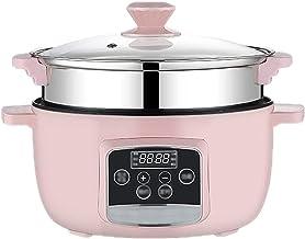 Mini Housewares rijstkoker, professionele versie, stoomboot met verwijderbare anti-aanbakpot, inductieverwarming, warmer i...