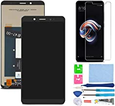 Pantalla LCD Táctil Asamblea Repuesto Compatible con Redmi Note 5 Global Version Negro con Herramientas + Película Templada