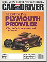 CAR AND DRIVER MAGAZINE AUGUST 1993