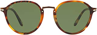 Persol Men's PO3184S108252 Brown Acetate Sunglasses