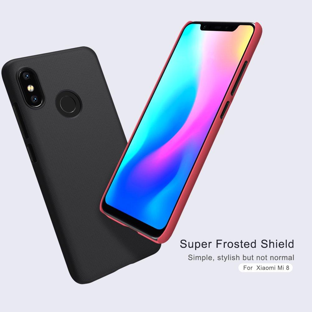Nillkin Funda Xiaomi Mi 8, PC Estuche rígido Ultrafino Funda ...
