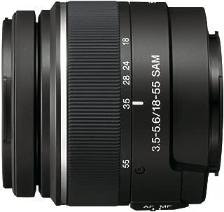 Sony 18-55mm f/3.5-5.6 SAM DT Standard Zoom Lens for Sony Alpha Digital SLR Cameras (Discontinued by Manufacturer)