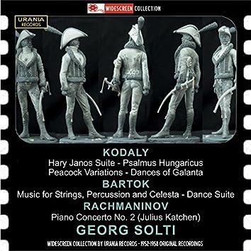 Kodály, Bartók, Rachmaninoff & Solti: Orchestral Works