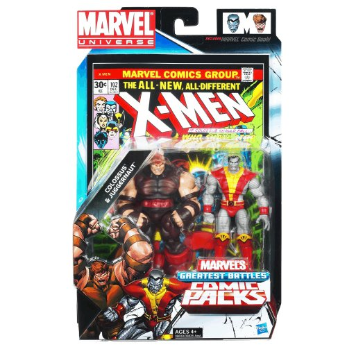 Colossus & Juggernaut - #102 Comic Book Action Figure 2-pack