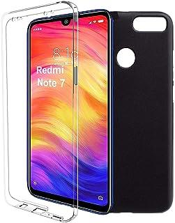 e6c252940fb iGlobalmarket Funda para Xiaomi Redmi Note 7 - Carcasa Completa [360] de  [Silicona