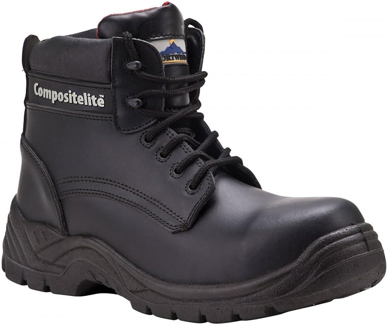 läder Compositeelit Compositeelit Compositeelit Safety stövlar Water Resistent Metal Free Toe Cap Midsule [10.5]  Beställ nu lägsta priser