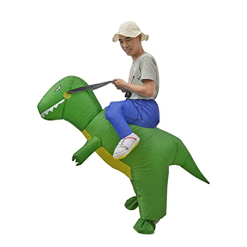 BigTree Inflatable Dinosaur Fancy Dress Party Costume for Adult Cloth Suit With Hat UK