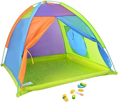 Home experience- Prince Oder Prinzessin Sommer Faltbare Kinder Spielen Zelt Haus Krabbeln Indoor oder Outdoor Garten Kinder Spielzeug Spielhaus Strand Sonne Jungen mädchen (130x130x90cm  )
