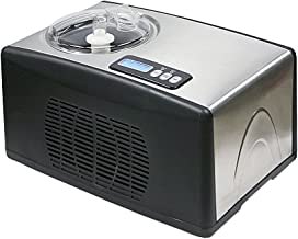 Whynter ICM-15LS Automatic Ice Cream Maker 1.6 Quart Capacity Stainless Steel, with Built-in Compressor, no pre-Freezing, ...