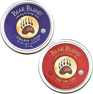 Bear Blend Organic Herbal Ceremonial Blend in Tin Can Bundle — 2 x 22g — Kin Nik Nik and Dream Lodge