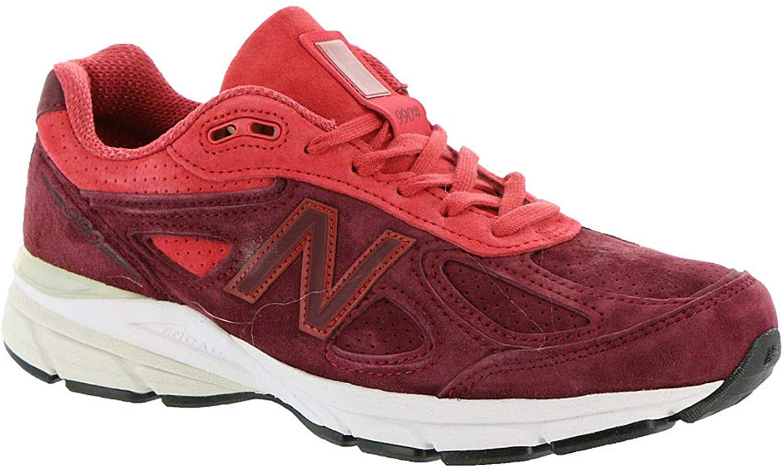 New New Balance - Frauen W990V4 Schuhe, 41 EUR - Width B, Vortex Pomelo  fabrik direkt