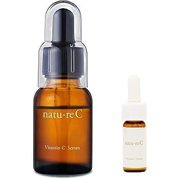 natu-reC(ナチュールシー) ビタミンC美容液 ピュアビタミンC配合 くすみ・乾燥に たっぷり使える30日分 18ml 日本製 持ち運びに便利なトラベルサイズ付き