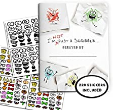 I'm NOT just a Scribble...Activity Booklet PLUS 228 Stickers