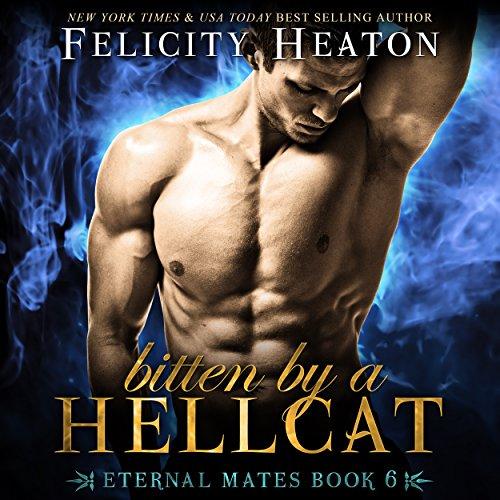 Bitten by a Hellcat audiobook cover art