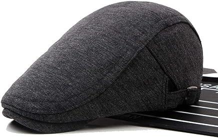 60a9f500 Popular Men's Hat Cotton Classic Newsboy Hat British Painter Beret Flat Caps  Adjustable Casual Winter Hat