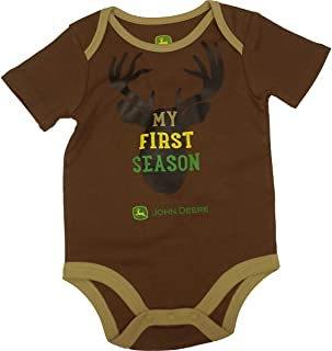Lazy One Boys Young Buck Baby Grow Vest 18 Months Brown