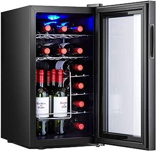 Oceanindw red and White Wine Cellar,Drug Reefer,Drug Refrigerator thermoelectric Wine Cooler,freestanding Refrigerator,Quiet Refrigerator,Stainless Steel