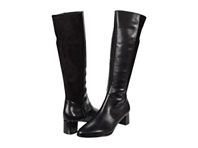 Trotters Kirby (Black Leather) Women