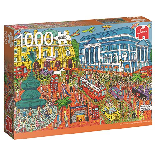 Jumbo 18563 puzzel Piccadilly Circus, 1000 delen
