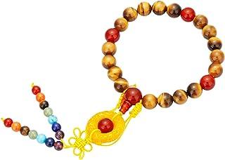 TUMBEELLUWA 21 Mala الخرز سوار شفاء كريستال متمدد اليوغا 7 شاكرا سوار حلية اليدوية مجوهرات للنساء الرجال