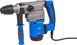 Ford 1050W SDS Max Professional Rotary Hammer Drill - 2 Modes, Corded Corded Electric 7kg Combination Hammer Drill, Heavy Duty Power Tool - Chisel and Breaker