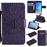 KKEIKO Galaxy J1 2016 Case, Galaxy J1 2016 Flip Leather