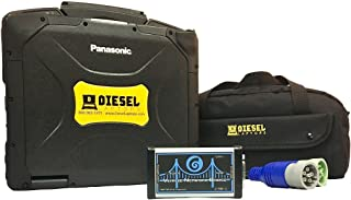 Heavy & Medium Commercial Truck Diagnostic TOUGHBOOK Starter Kit w/SOFTWARE