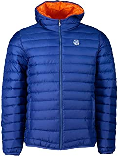 NORTH SAILS Crozet Men's Jacket in Recycled Ripstop Fabric and Water Repellent Coating with Repreve Padding