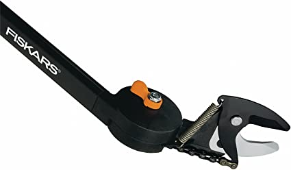 Fiskars Pértiga universal UP80, Para las Podaderas UP84 & UP82, Negro/Naranja, 1001560