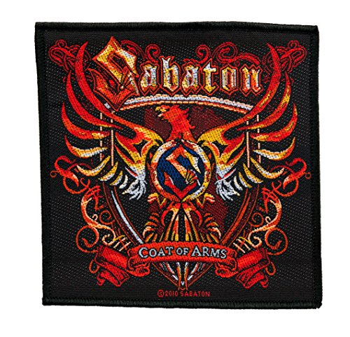 Sabaton - Coat Of Arms[Patch/Aufnäher, gewebt] [SP2471]