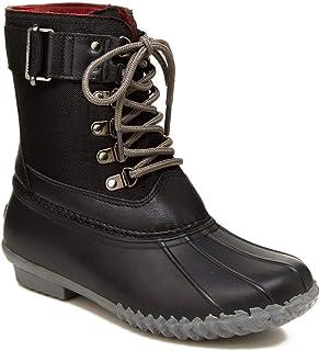 JBU by Jambu Women's Cordera Waterproof Rain Mid Calf Boot, Black, 6