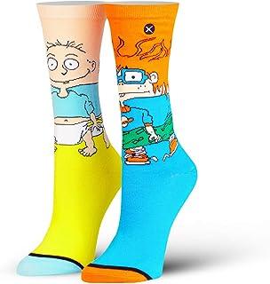 las mujeres, Nickelodeon, los 90 dibujos animados de la tripulación calcetines, novedad divertido tonto fresco