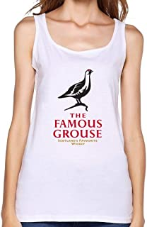Dotion Women's The Famous Grouse Beer Waistcoat T Shirt