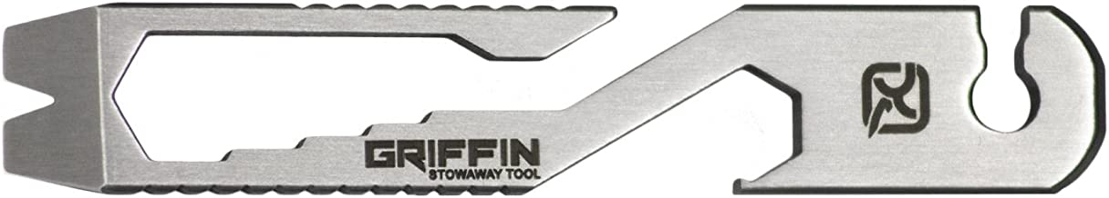 Klecker Knives Daily Carry Griffin Wrench Bottle Opener Multi Tool, Metal Matte