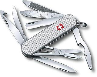Victorinox Mini Champ Silver Alox - Swiss Army Pocket Knife 58 mm - 14 Tools