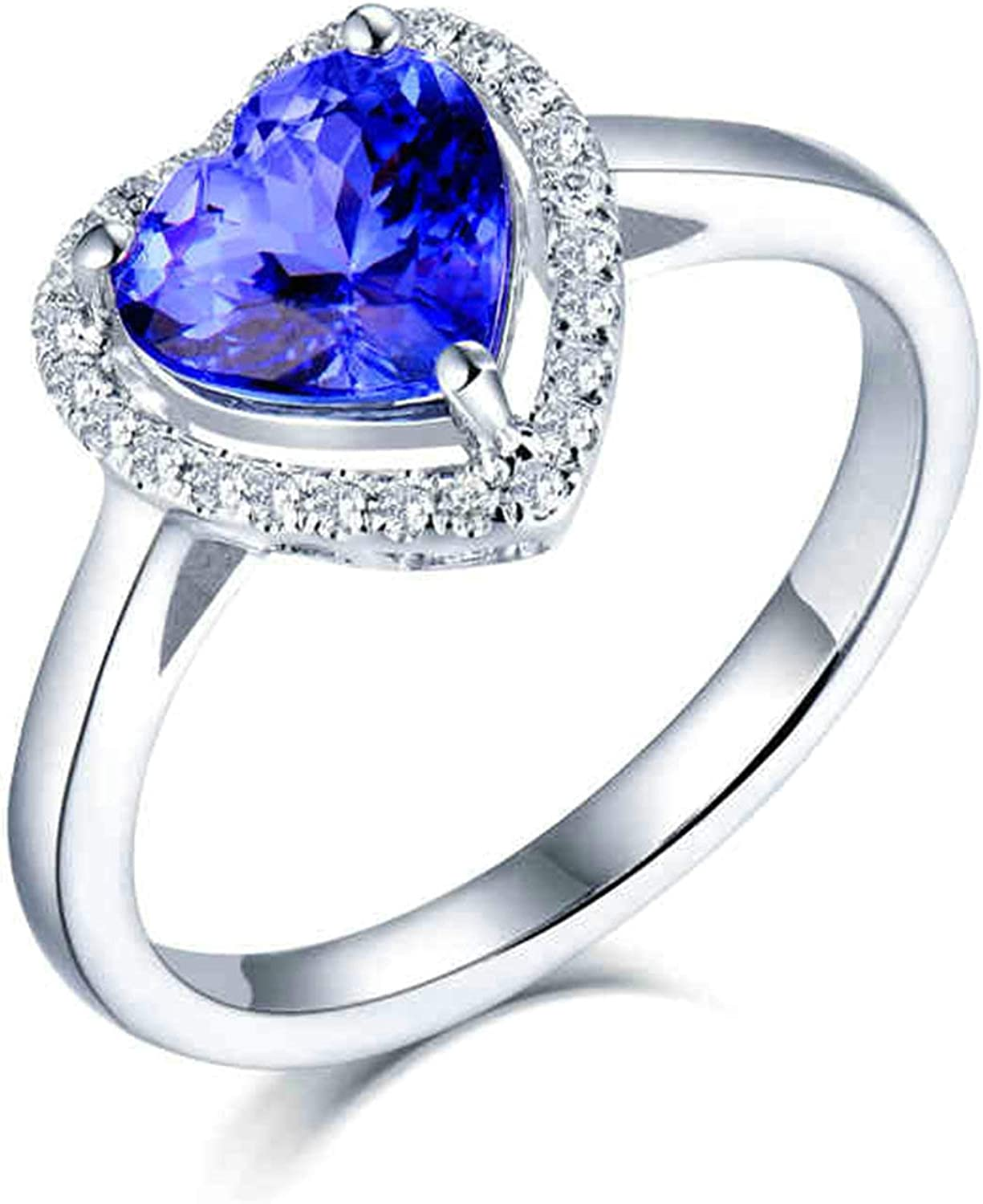 Bishilin White Gold Ring Chicago In stock Mall 750 Women Men Real St Band Simple