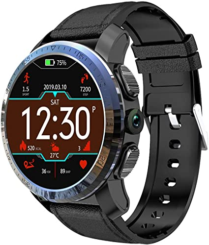 Fine Kospet Optimus Pro Smart Watch, 3GB RAM 32GB ROM WiFi GPS Android 7.1.1 System 8.0MP Camera for Android and iPhone Compatible Sport Management Water Proof Heart Rate Monitor