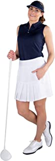 Jofit Apparel Women's Athletic Clothing Long Dash Skort for Golf & Tennis