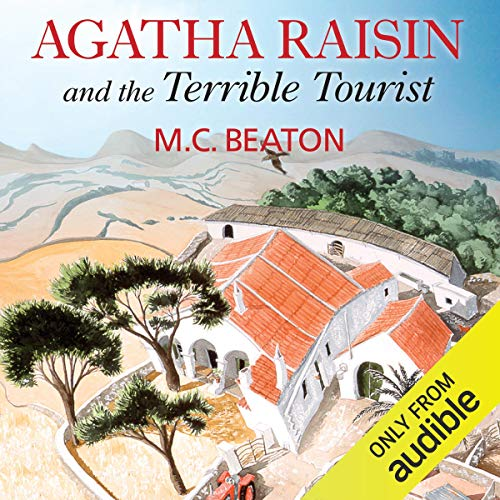 『Agatha Raisin and the Terrible Tourist』のカバーアート