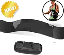 Arm Blaster for Biceps and Triceps, Dumbells and Barbells Curl Support for Biceps