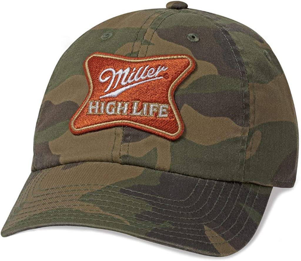 AMERICAN Max 68% OFF NEEDLE Miller High Life Louisville-Jefferson County Mall Casual Relax Baseball Beer Hat