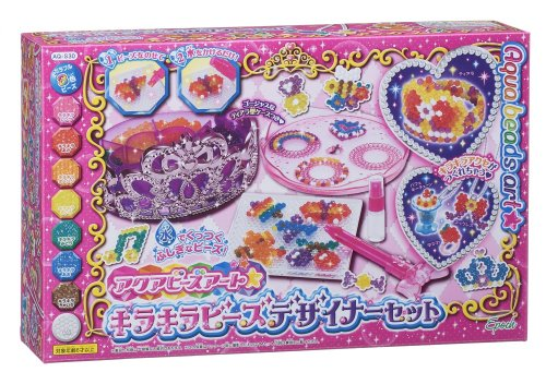 Aqua beads Art glitter beads designer set AQ-S30 (japan import)