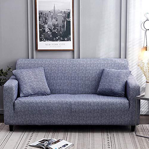 HXTSWGS Funda de sofá de Terciopelo,1/2/3/4 Asientos Protector de Funda de Asiento de sofá de Spandex elástico, Funda Lavable para Muebles, Fundas Todo incluido-Color23_90-140cm_