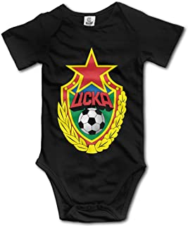 QCNEY Baby's CSKA Moscow Bodysuit Romper Jumpsuit Baby Clothes