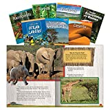 Teacher Created Materials - Classroom Library Collections: Biomes and Ecosystems - 7 Book Set - Grades 2-4