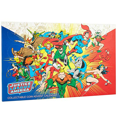 Zavvi Justice League of America JLA Collectible Coin Advent Calendar - Limited Edition