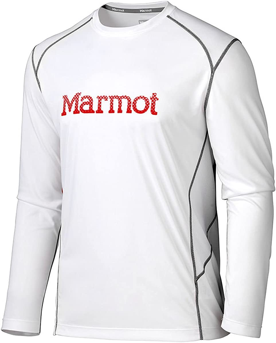 Marmot Windridge camiseta de manga larga con ilustraci/ón Hombre